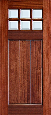 3-0x6-8_Mahogany_Craftsman_No_Shelf